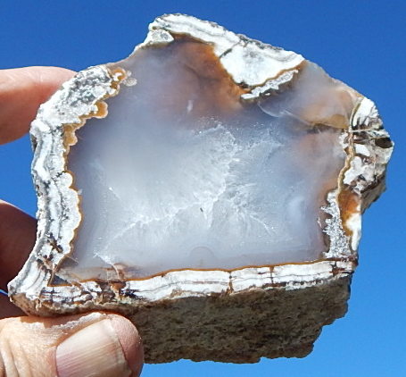 Big Diggins New Mexico Agate