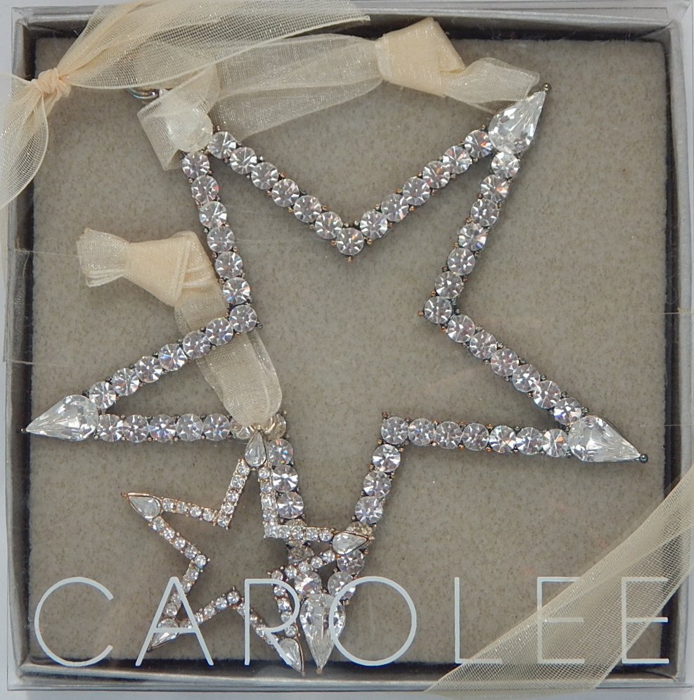 Carol Lee Rhinestone Star Ornament & Pendant
