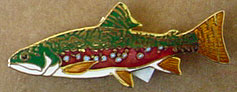 Wm Spears trout pin