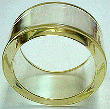 plastic lucite bangle