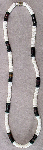 Heishe bead necklace