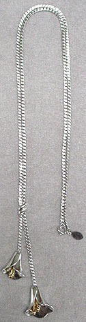Avon silver chain necklace