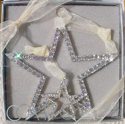Carol Lee rhinestone star