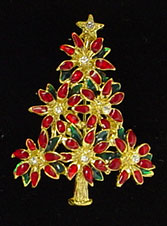 Lia Christmas tree pin